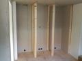standbouw voor diepvrieskast, koelkast, oven en koffiemachine